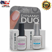 Duo Pack Top it off Foundation Base Gel Nail Harmony Gelish UV Soak Off Gel