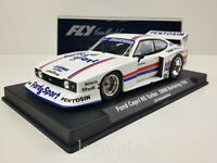 Slot car SCX Scalextric Fly 88144 Ford Capri RS Turbo DRM Norisring 1982