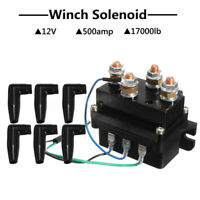12V Heavy Duty Winch Solenoid Relay Upgrade Equiv 500A Recovery 4x4 17000lb ATV