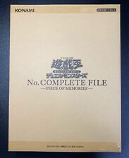 """Yu-Gi-Oh No.COMPLETE FILE Numbers Complete File Made-to-order product """"NEW"""""""