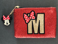 NEU DiSNEY MiNNiE MOUSE CLUTCH MAKE-UP TASCHE KOSMETiKTASCHE GELDBÖRSE PRiMARK