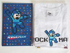 Rockman Megaman 30th Anniversary Stamp set T-Shirt M size White Japan Post F/S