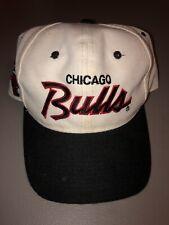 Vintage NBA Chicago Bulls Sports Specialties Script Snapback HAT JORDAN