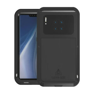 For Huawei Mate 30 Pro / 30 Pro 5G LOVE Mei Powerful Metal Armor Shockproof Case