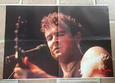 poster affiche revue magazine français Rock JOHNNY CLEGG  58x42cm