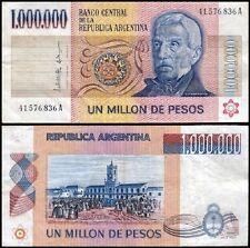 Argentina 1 Million (1,000,000 - 1000000) Pesos, 1981-1983, P-310, USED