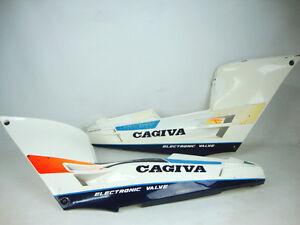 CARENE CAGIVA FRECCIA C 12 125 10  FIANCATE POSTERIORI TAIL SIDE PANEL FAIRING