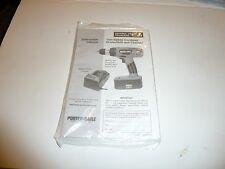 PORTER  CABLE  884  19.2 V     CORDLESS  DRILL  MANUAL AND  PARTS  LIST