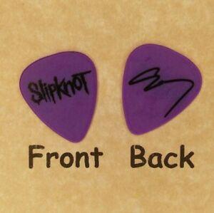 SLIPKNOT novelty Corey signature guitar pick (w2281)