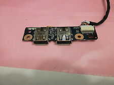 Used right side usb board JAK00 ls-4082p w/wiring +screw 4 hp dv7-1127cl  Works