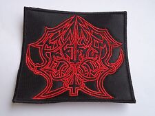ABRUPTUM BLACK METAL EMBROIDERED PATCH