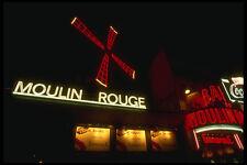287013 le moulin rouge night club Paris France A4 papier photo
