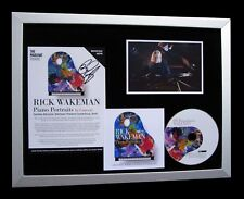 RICK WAKEMAN+YES+SIGNED+FRAMED+PIANO+PORTRAITS=100% AUTHENTIC+FAST GLOBAL SHIP