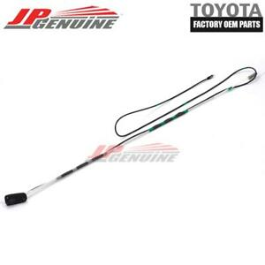 Toyota Rav 4 MK2 Black Rubber Genuine Replacement AM//FM Aerial Mast Antenna Roof Screw In Type