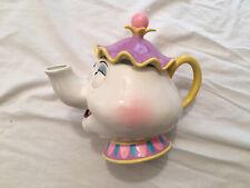 Schmid Disney Beauty and the Beast Mrs Potts Ceramic Working Musical Tea Pot Mib