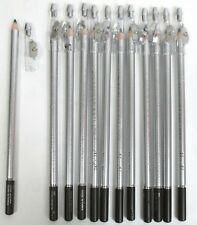 Wholesale Lot Of 12-Dark Brown Eyeliner Pencil W/ Sharpner Waterproof -Ep72Db