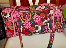 Vera bradley small duffel bag in retired Mod Floral Pink pattern EUC