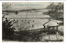CPA-Carte Postale-France- Bruyères-Patinage au Lac de Pointhaie-1919 VM10446