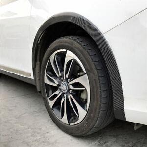 5cm X 1.5M Car Fender Flare Carbon Fibre Looking Rubber Wheel Eyebrow Protector
