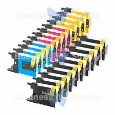 22 PACK LC71 LC75 Compatible Ink Cartirdge for BROTHER Printer MFC-J435W LC75