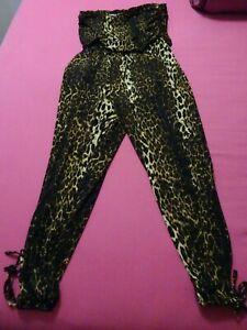 CiTY CHiC :: Women's Animal Print Strapless Jumpsuit : Size 18 [M] GorGeOUS