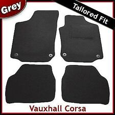 Vauxhall Corsa C 2000-2006 Tailored Fitted Carpet Car Floor Mats GREY