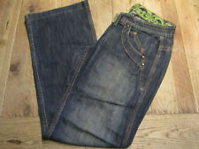 Unbranded Wide Leg Cotton Jeans for Women