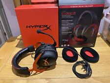 HyperX Cloud II Gaming Headset - Red - needs attention