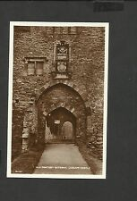 Valentine's Vintage Real Photo  Postcard Gateway Ludlow Castle unposted