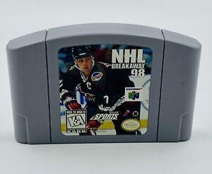 NHL Breakaway 98 (Nintendo 64, 1998) N64 Cart Only Authentic