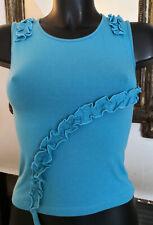 T-shirt bleu sans manches PHARD Taille S Neuf