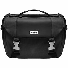 NEW Nikon Deluxe Digital SLR DSLR Camera Gadget Accessories Bag Case 17001 Black