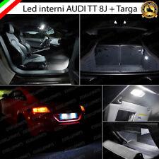 KIT LED INTERNI AUDI TT 8J KIT COMPLETO + PLACCHETTE LED TARGA 6000K CANBUS
