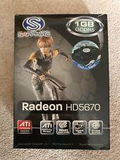Sapphire Radeon Hd5670 1gb Gddr5 graphics card