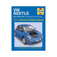 VW Beetle Haynes Manual 1999-07 1.4 1.6 1.8 2.0 Petrol 1.9 Diesel Workshop
