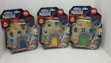 World of Warriors Battle Temple 8 Figure Pack w/ Mystery Warriors x3