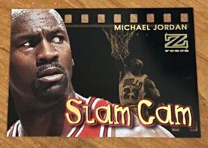 1997-98 MICHAEL JORDAN SKYBOX X-FORCE ULTRA RARE SLAM CAM SP INSERT # 5 of 12 !!