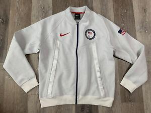 Nike Paralympic Team USA 2020 Tech Pack Windrunner Bomber Jacket Men's Size XL