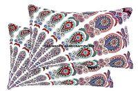 2 PC Mandala Indien Tapisserie Gypsy Housse Oreiller Coton Décor Taie
