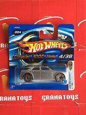 Chrysler 300C Hemi #004 Silver Blings Hot Wheels 2006 Short Card