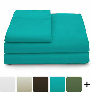 6 Piece Deep Pocket 2100 Count Super Soft Egyptian Bamboo Comfort Bed Sheet Set