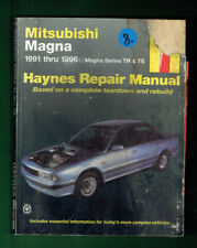 CAR WORKSHOP MANUAL - MITSUBISHI  MAGNA 1991-1996, TR & TS, DAMAGED