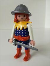 Playmobil Figure - Prince warrior with sword  (Loose)