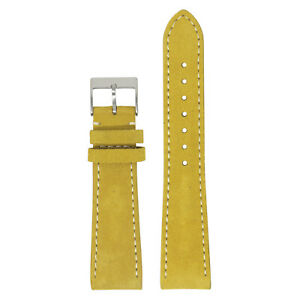 StrapsCo Mens Suede Leather Watch Band Strap 16mm 18mm 19mm 20mm 21mm 22mm 24mm