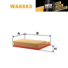 1x FILTRO DE AIRE WIX wa6663 - equivale a Fram ca5948