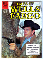 TALES OF WELLS FARGO #1075 in VF condition 1960 DELL Silver Age western comic