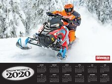 2020 SNOWMOBILING WALL CALENDAR Polaris Arttic Cat Yamaha SkiDoo Snowmobile