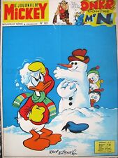 Le journal de Mickey N° 921 du 2 /1970 -Walt Disney Edi-Monde
