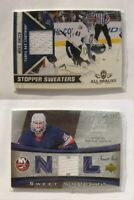 2010-11 Panini All Goalies #12 Mike Smith  white stopper sweaters lightning