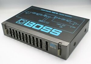 BOSS RGE-10 Graphic Equalizer halfrack Guitar Effect Unit MIJ Express F/S #17